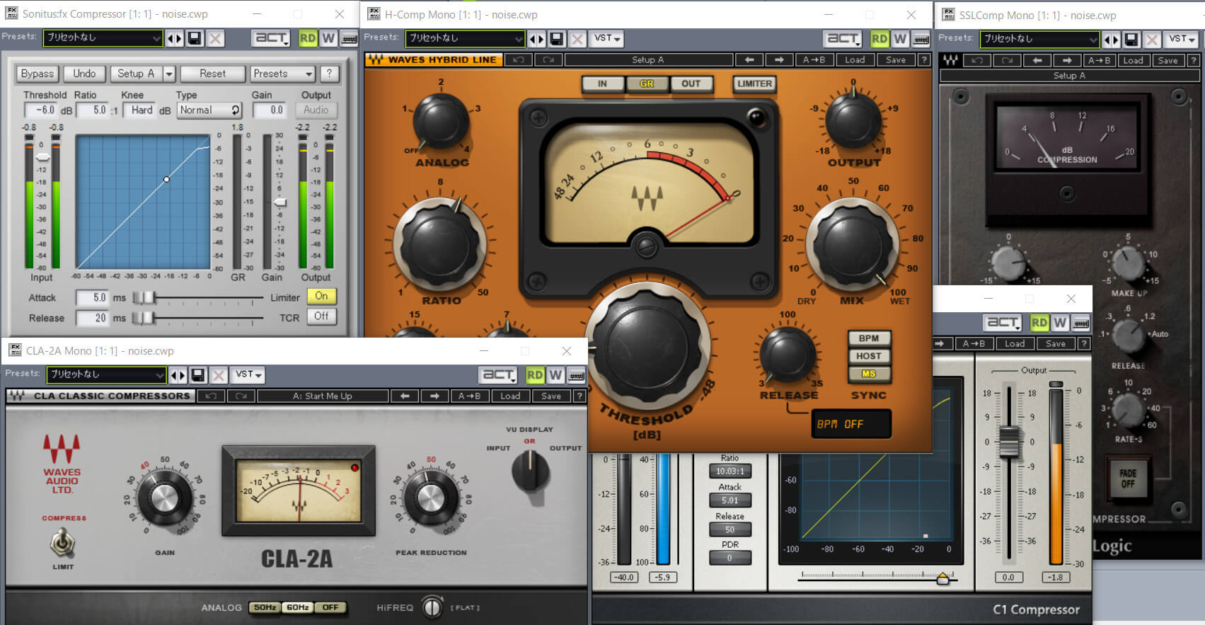 【VOCALOID調声】ボカロの歌声を聴きやすくするコンプレッサーの設定例