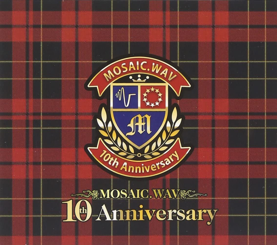 【提供】MOSAIC.WAV 10周年アルバム